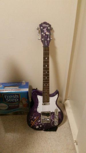 Washburn, electric guitar hannah montana, by Disney
