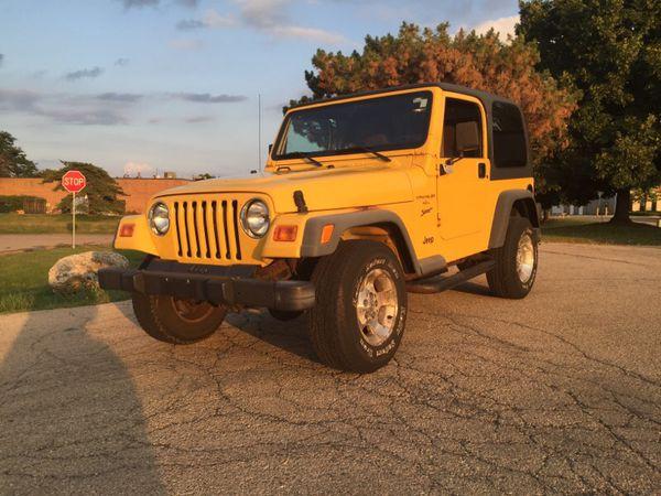 2000 jeep wrangler sport 5 speed manual transmission 4 0 l. Black Bedroom Furniture Sets. Home Design Ideas