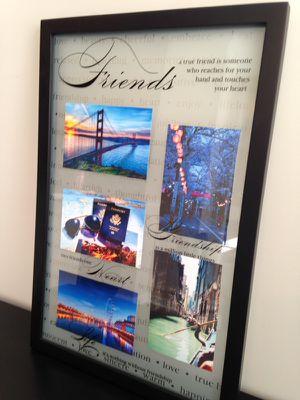 Friendship wall frame 21 x 14