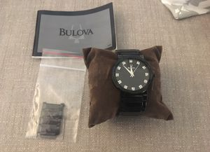 Bulova gently used watch model# C9671347