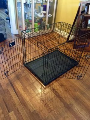 Dog crate 24x36 bottom pan included