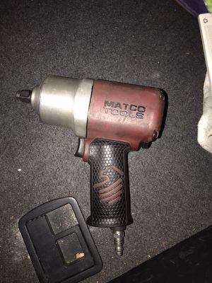 1/2in matco impact gun
