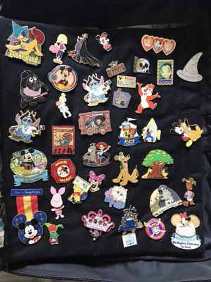 Disney pins 4$ each