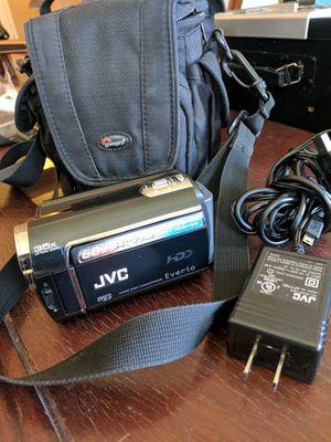 JVC HDD Camcorder w zoom lens