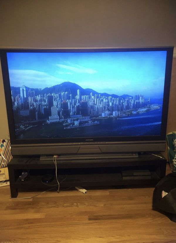 84 inch Mitsubishi TV (TVs) in Trumbull, CT - OfferUp
