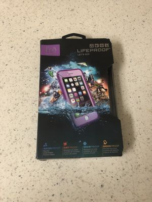 Lifeproof case for iPhone 6/ 6S.
