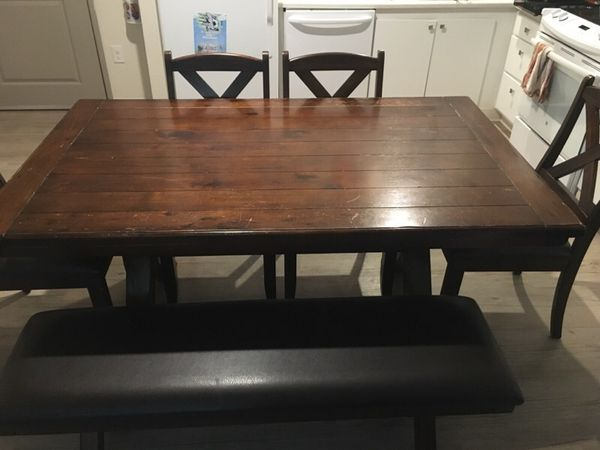 Family Dinning Table Furniture In Wichita Ks Offerup