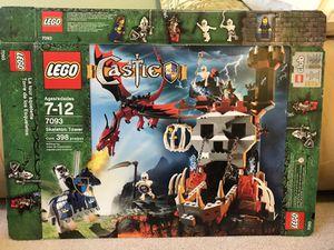 Rare Lego Castle Skeleton Tower 7093