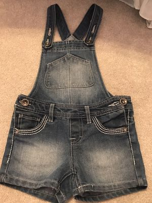 Jean Shorts Overalls - Size 7