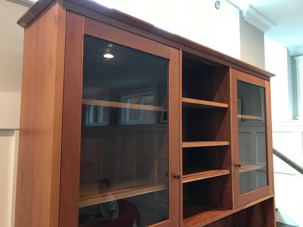 Room & Board Cherry Wood Hutch (Furniture) in Chicago, IL