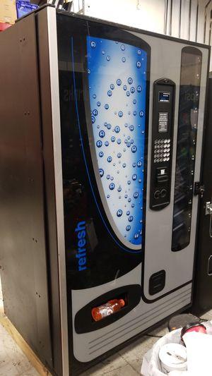 Soda vending machine fully working best deal refurbished
