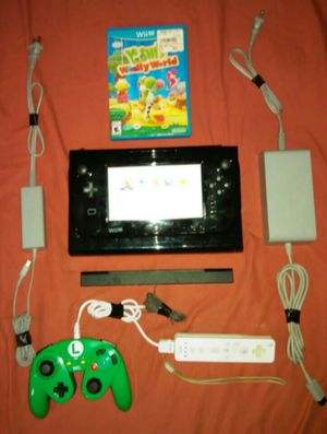 Nintendo Wii U (32gb) Bundle