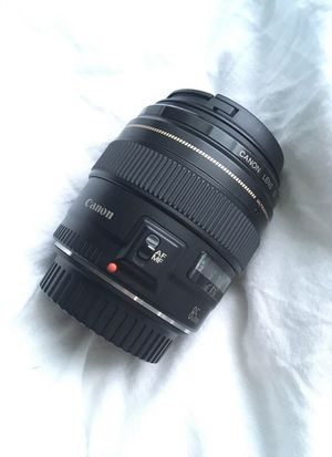 Perfect canon lens 85mm 1.8