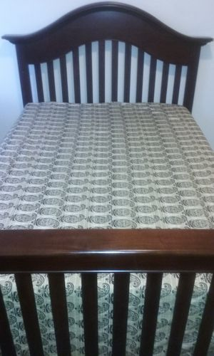 Full Size Bed ( Mattress and Box not included )