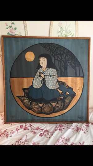 Huge Asian painting