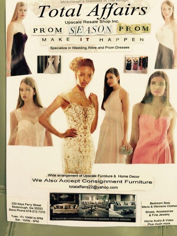 PROM DRESSES - FOR SALE (Furniture) in McDonough, GA - OfferUp