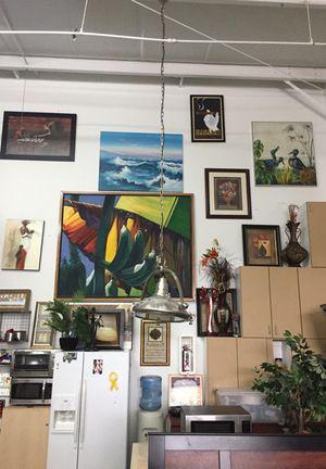 Various wall decorations pictures decor art man cave vintage