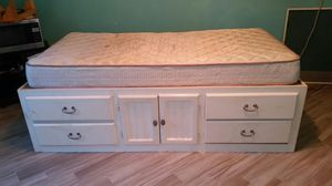 Free twin captains bed