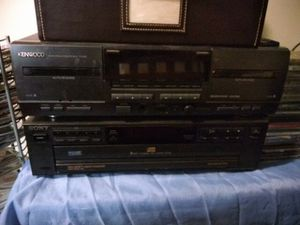 Tape and CD Disk Changer