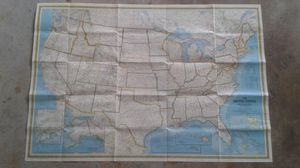 US Wall Map 1979 by National Geographic 41 x 29