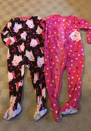 4T girls Sleeper Pjs