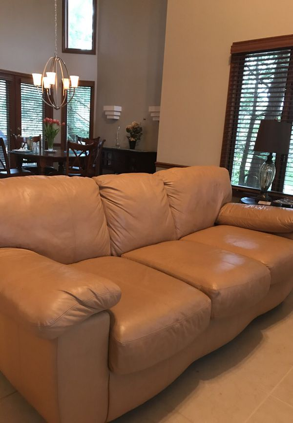 Leather Sofa Ashley Furniture Furniture in Dayton OH OfferUp