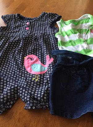 2 baby girl outfits size 18 months
