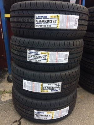 New Tire 215-45-17 Free Mount & Balance