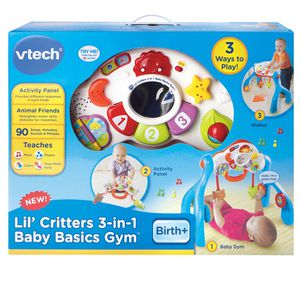 The Lil' Critters 3-in-1 Baby Basics Gym by VTech