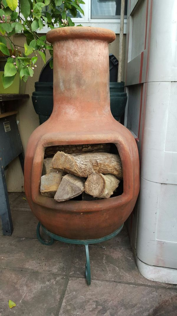 chimenea inca the barro de marruecos general in san jose ca offerup. Black Bedroom Furniture Sets. Home Design Ideas