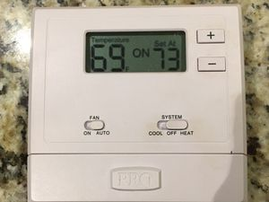Thermostat excellent working condition