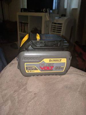 Brand new DeWalt flexvolt battery