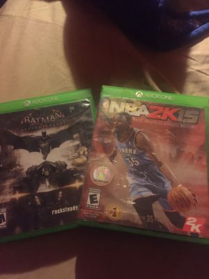 Two Xbox one video games