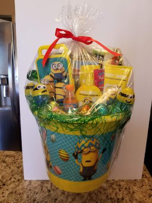 Minions Easter Bucket