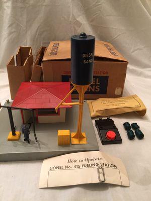 Lionel 415 Diesel Fueling Station