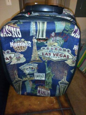 Las Vegas suitcase luggage