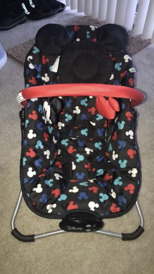 Mickey Mouse Snug Fit Musical Bouncer