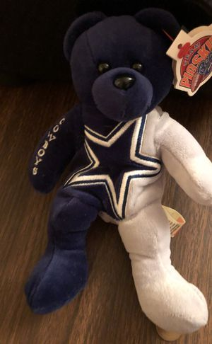 "Dallas Cowboys ""Team Pigskin"" Mini Bears! Excellent Gift n Shelf Decoration"