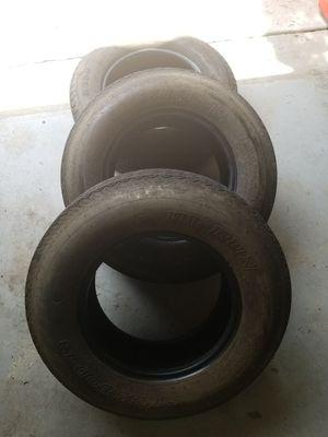 Trailer tires like new. ST 185/80 D13