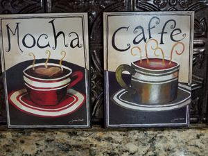 Mocha and Caffe Art
