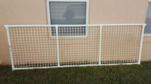 PVC Fence 3 panels 120 x 39 and 1 panel 76 x 39