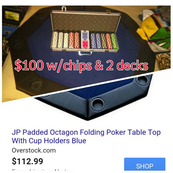 Poker table cup holders 2 3 4