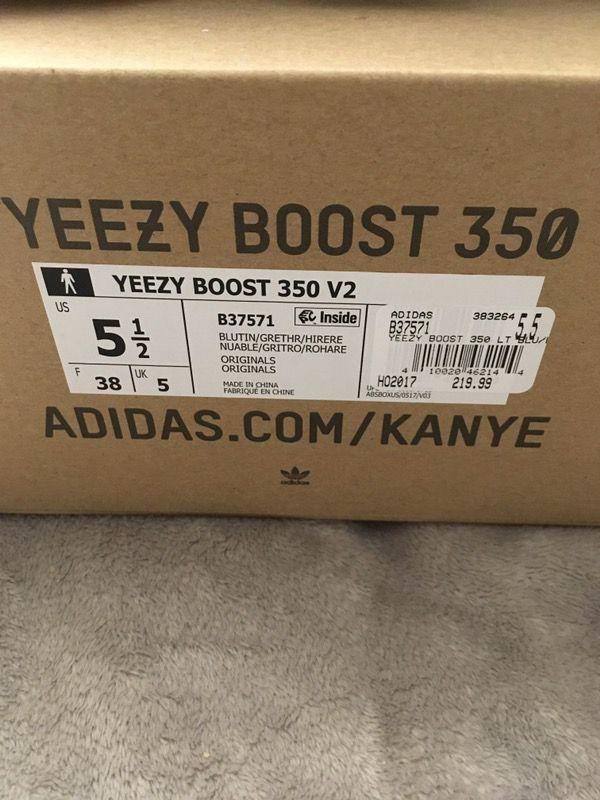 Yeezy 350 V2 'Blue Tint' Sneaker Myth