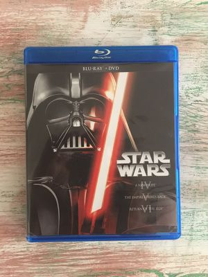 Star Wars Trilogy BluRay/DVD
