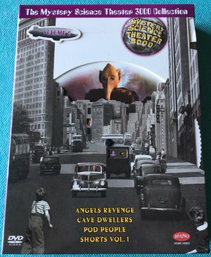 Mystery Science Theater 3000 Collection: Volume 2 (Angels' Revenge / Cave Dwellers / Pod People / Shorts, Vol. 1)