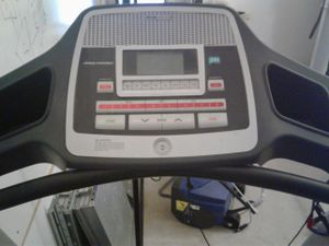 Treadmill and 2 pull ups bars