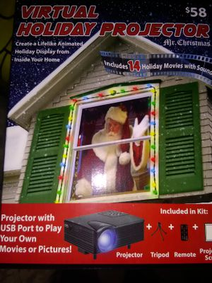 Christmas projector