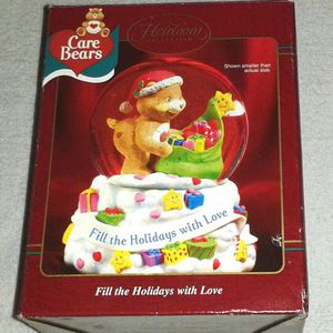 Care Bears Musical Christmas Snowglobe