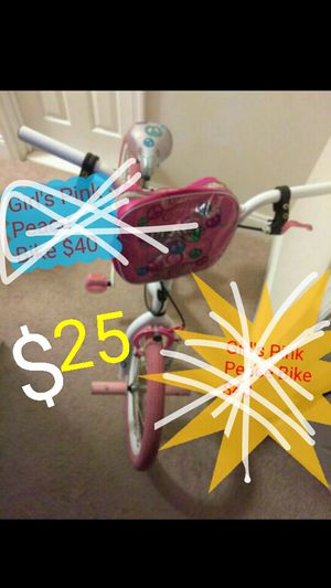 Pink Peace Bike