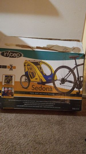 sedona two seat bicycle trailer